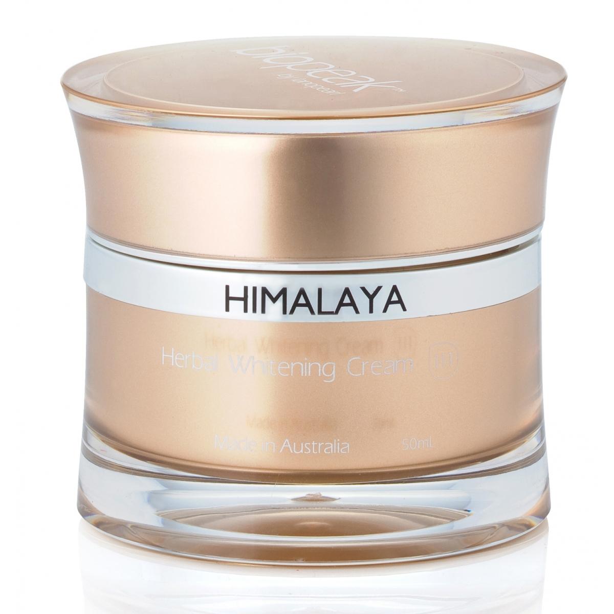 Skin Care Cream: Himalaya Herbal Whitening Cream (LB34N) 50mL
