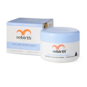 Rebirth Placenta Anti-Wrinkle Cream with Vit E & Lanolin